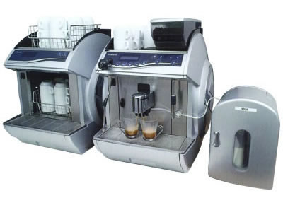 saeco short term coffee machine hire